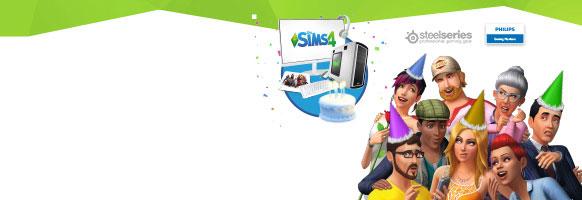 <span style='color:black'>Gratuliere den Sims und gewinnen einen Gaming-PC!</span>